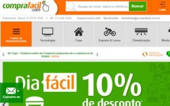 Site CompraFacil lança programa de afiliados