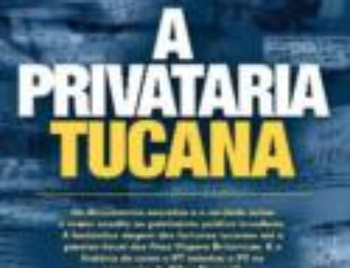 Veja onde encontrar o livro a Privataria Tucana