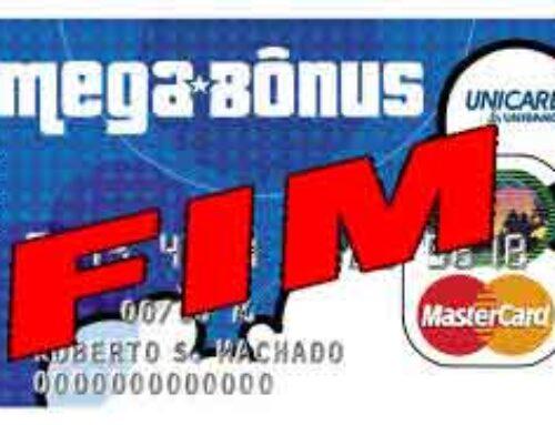Cartão Internacional Mastercard pré-pago Mega Bônus o fim