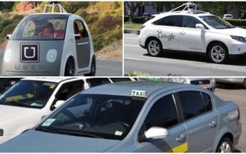 Uber e Google acabam com emprego de 10 milhões de taxistas