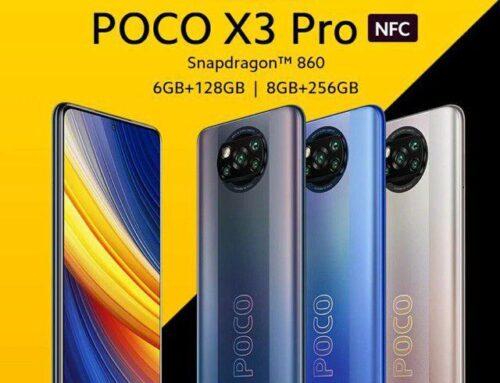 Xiaomi Poco X3 Pro com 128 GB ou 256 GB mais barato